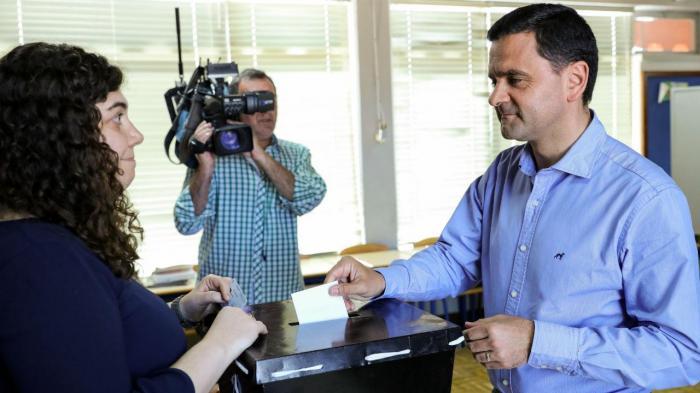 Pedro Marques vota para as eleições europeias