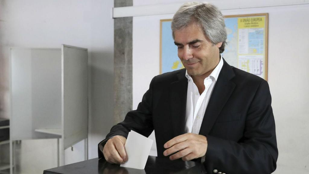 Nuno Melo vota para as eleições europeias