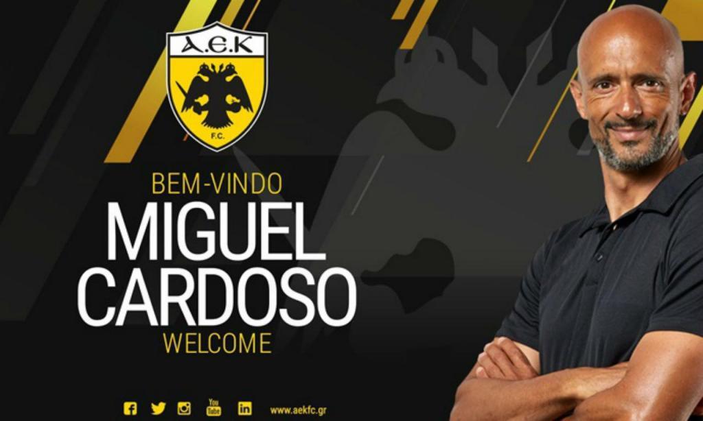 Miguel Cardoso (twitter AEK)
