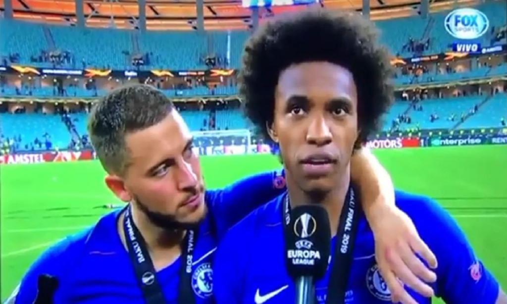 Willian e Hazard (Youtube)