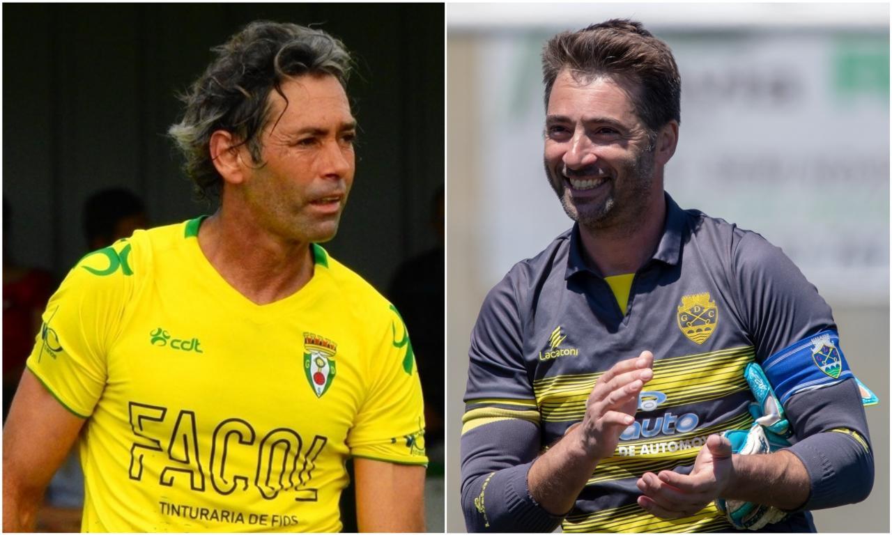 Zé Manel e Nuno Dias acabam carreira aos 43 anos (Foto: Serzedelo e GD Chaves)