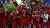O resumo da vitória do Liverpool frente ao Tottenham na final da Champions