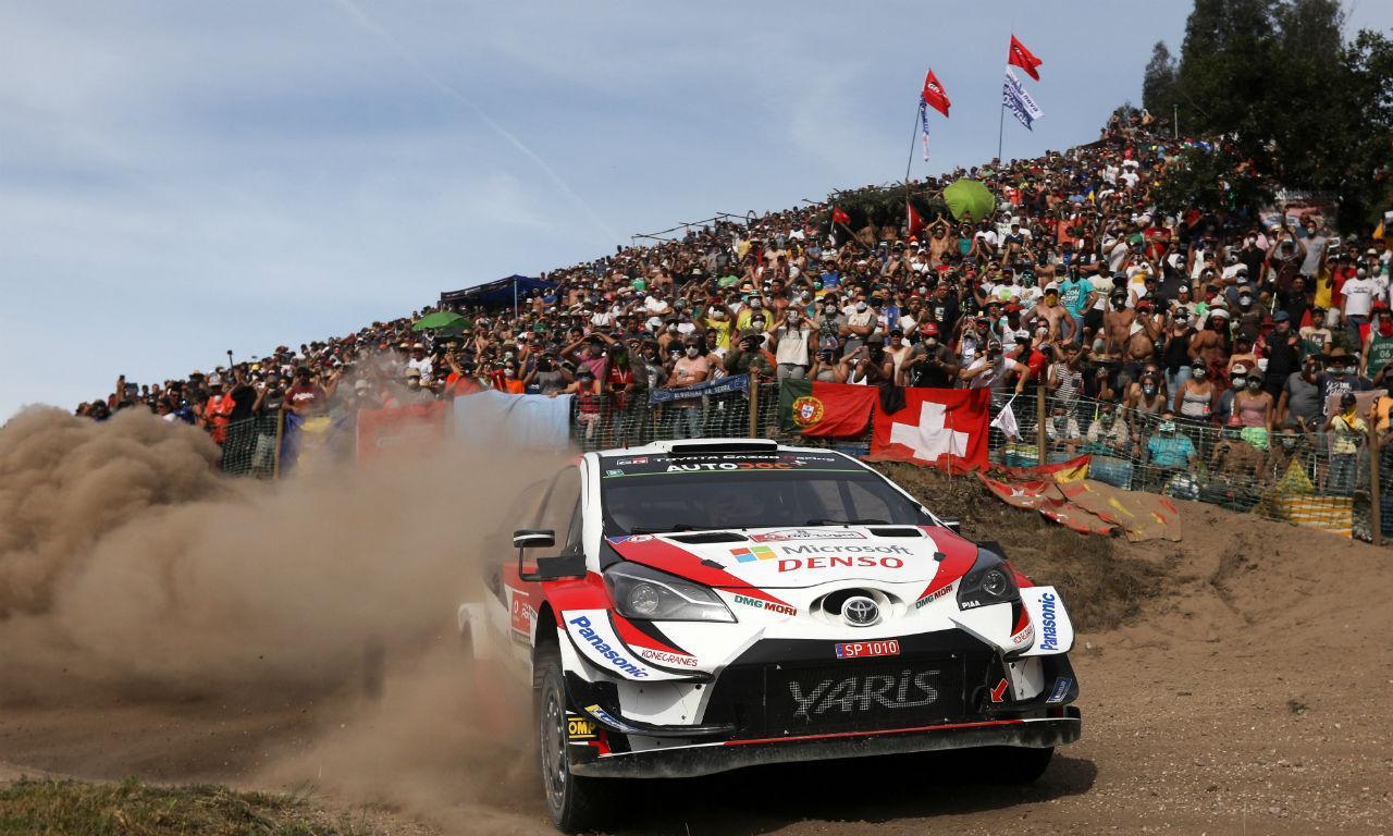 Ott Tanak venceu Rali de Portugal