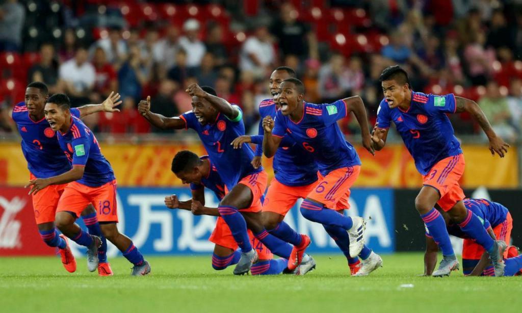 Colômbia qualificada para os quartos de final do Mundial de sub-20