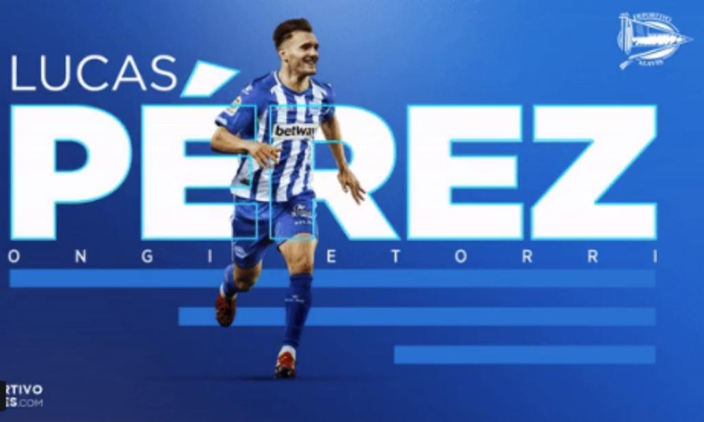 Lucas Pérez (twitter Alavés)