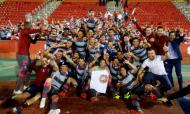 Granada festeja subida à primeira liga espanhola (Granada)