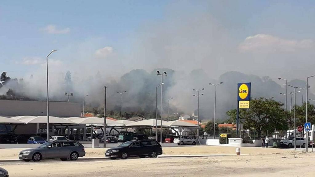 Incêndio em Coruche