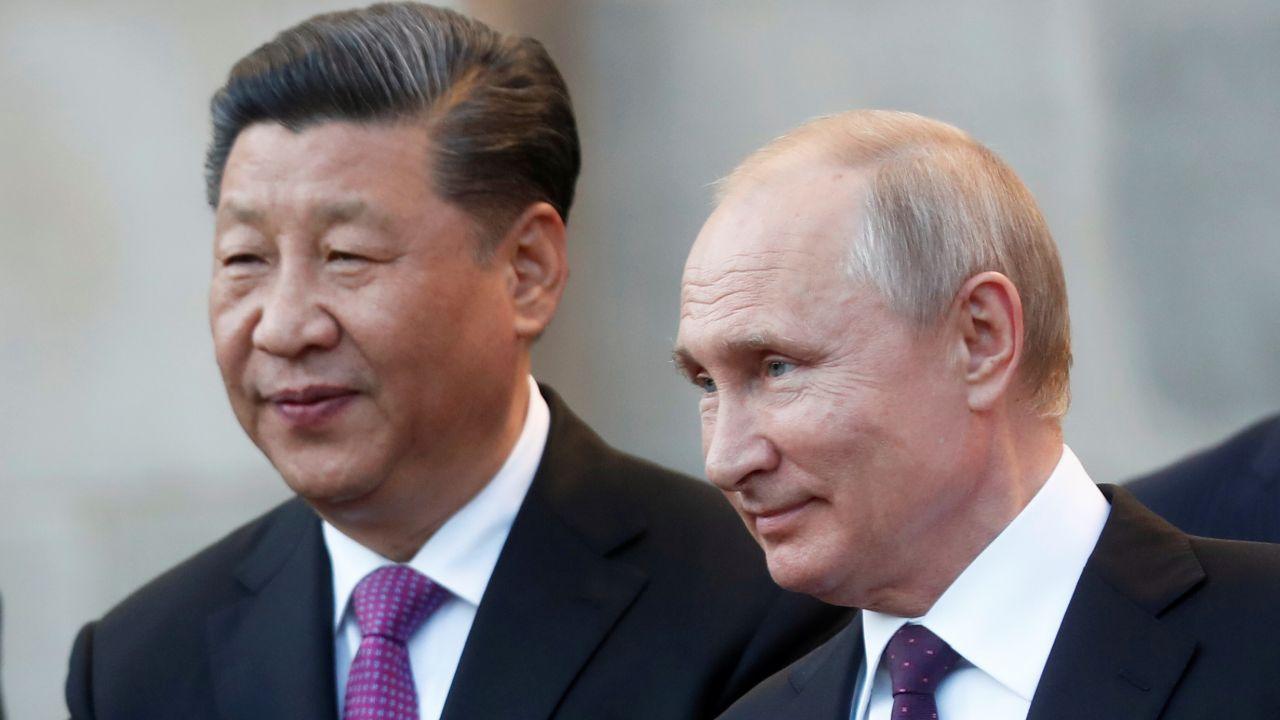Putin e Xi Jinping