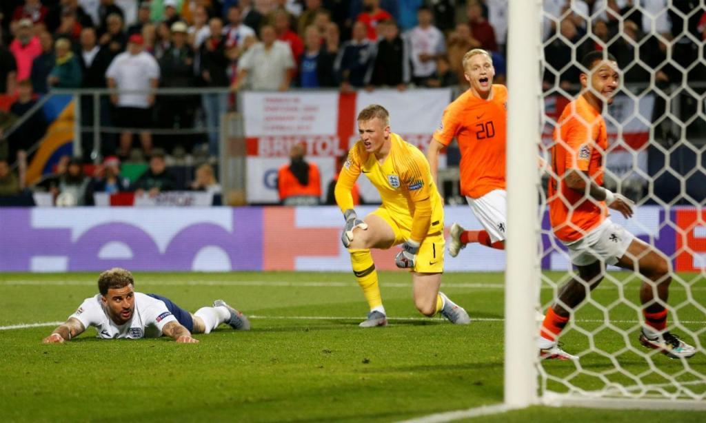 Holanda-Inglaterra (Reuters)