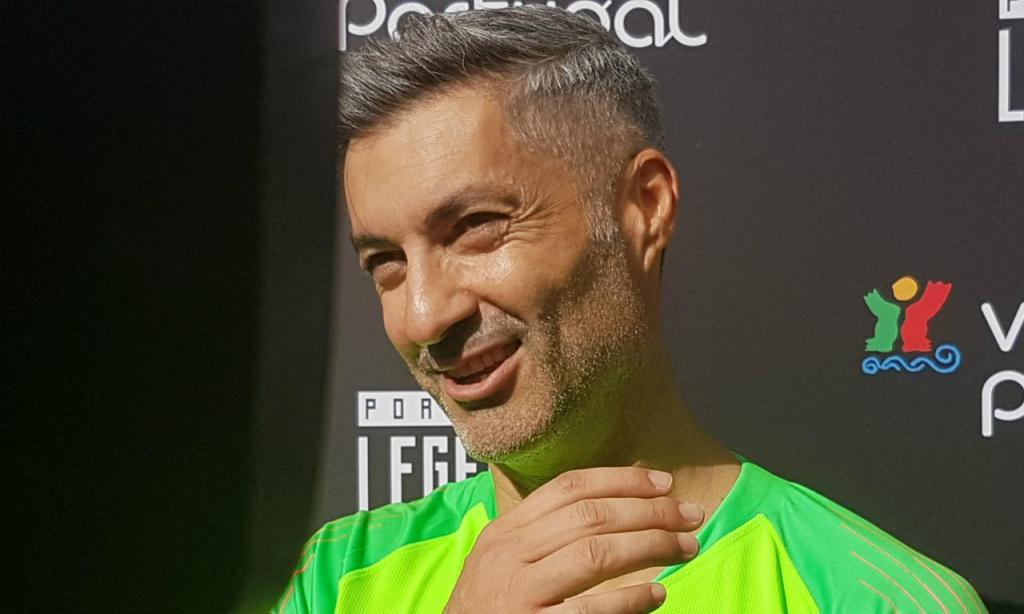 Vítor Baía no Legends Match da FPF (Ricardo Jorge Castro)