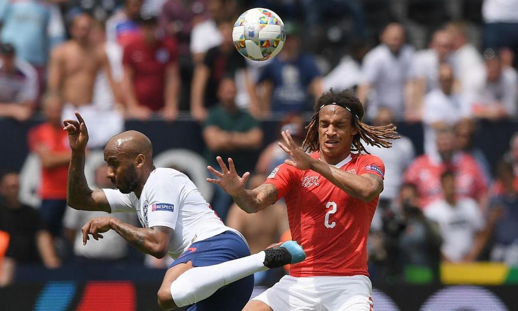 Suíça-Inglaterra (Hugo Delgado/Lusa)