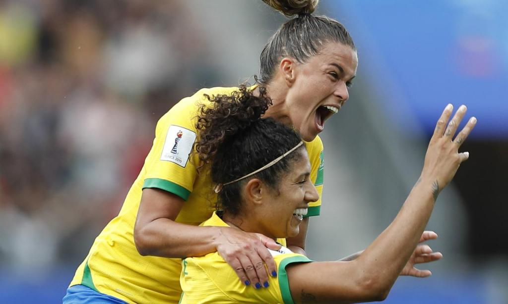 Mundial 2019 Feminino: Brasil-Jamaica (GUILLAUME HORCAJUELO/EPA)