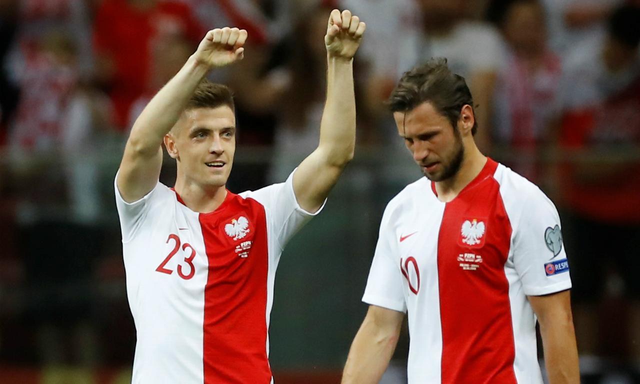 Euro 2020: Polónia-Israel (REUTERS/Kacper Pempel)