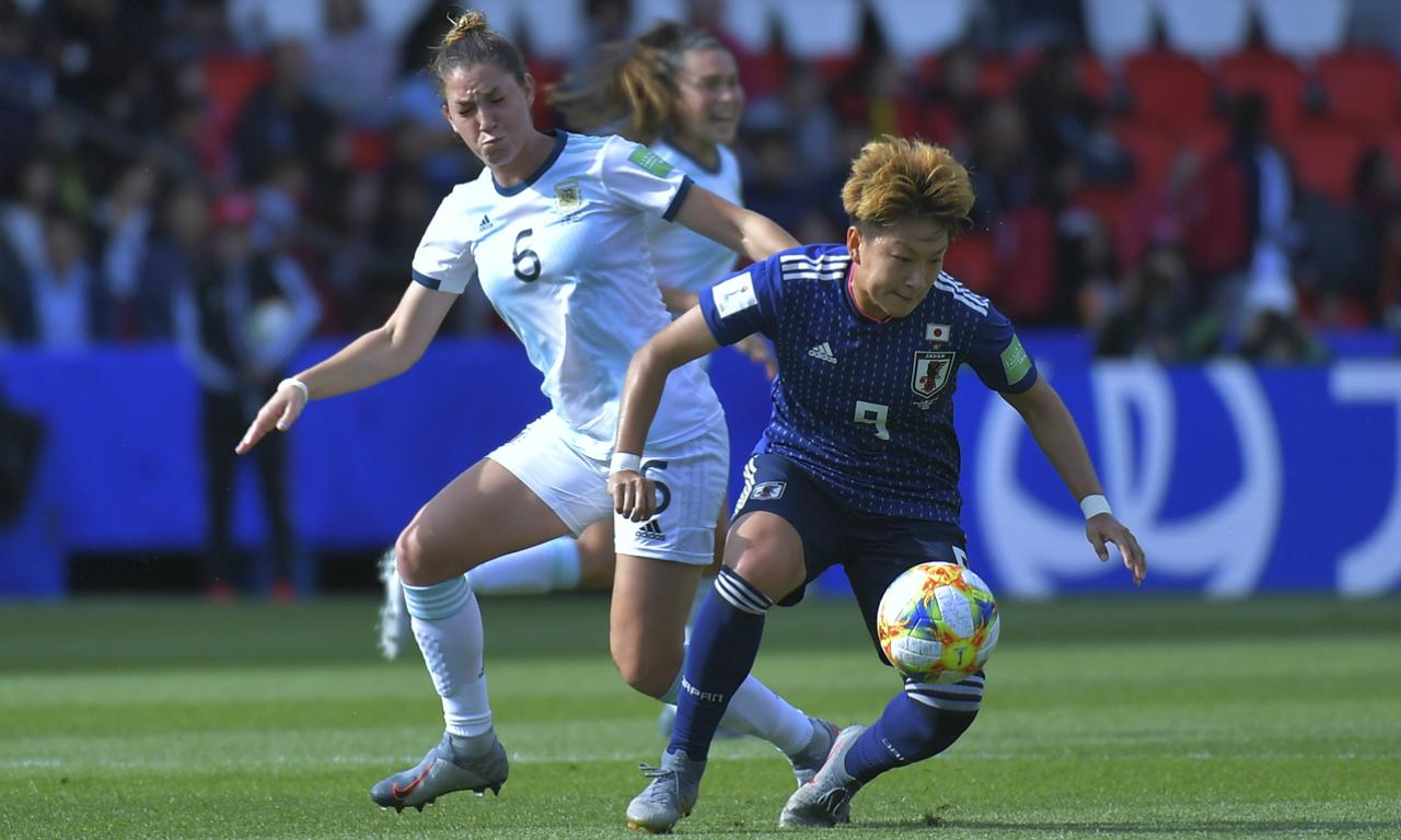 Mundial 2019 Feminino: Argentina-Japão (Reuters)