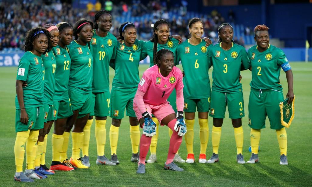 Mundial 2019 Feminino: seleção dos Camarões (REUTERS/Jean-Paul Pelissier)