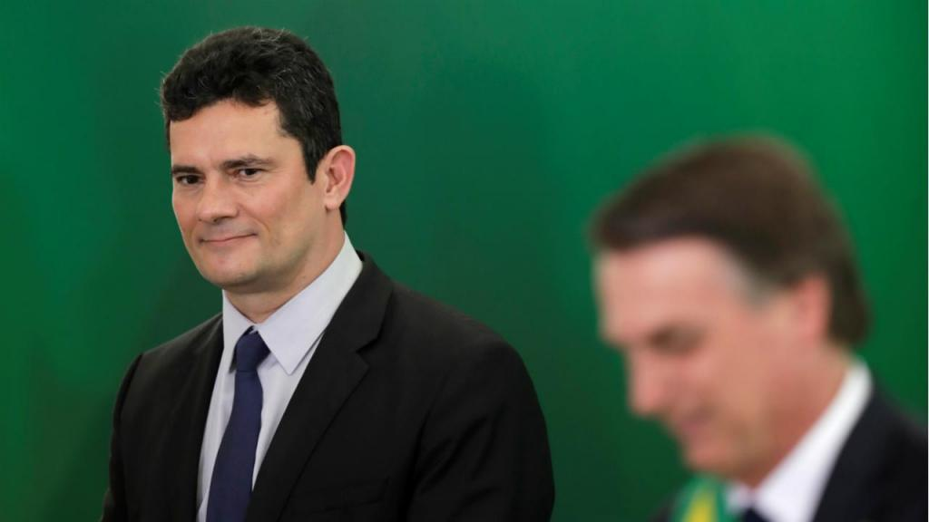 Sérgio Moro e Jair Bolsonaro