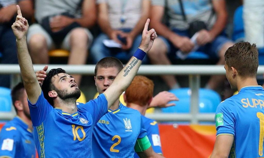 Ucrânia está na final do Mundial sub-20 (foto FIFA)