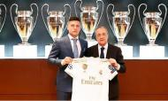Apresentação de Luka Jović (foto Real Madrid)