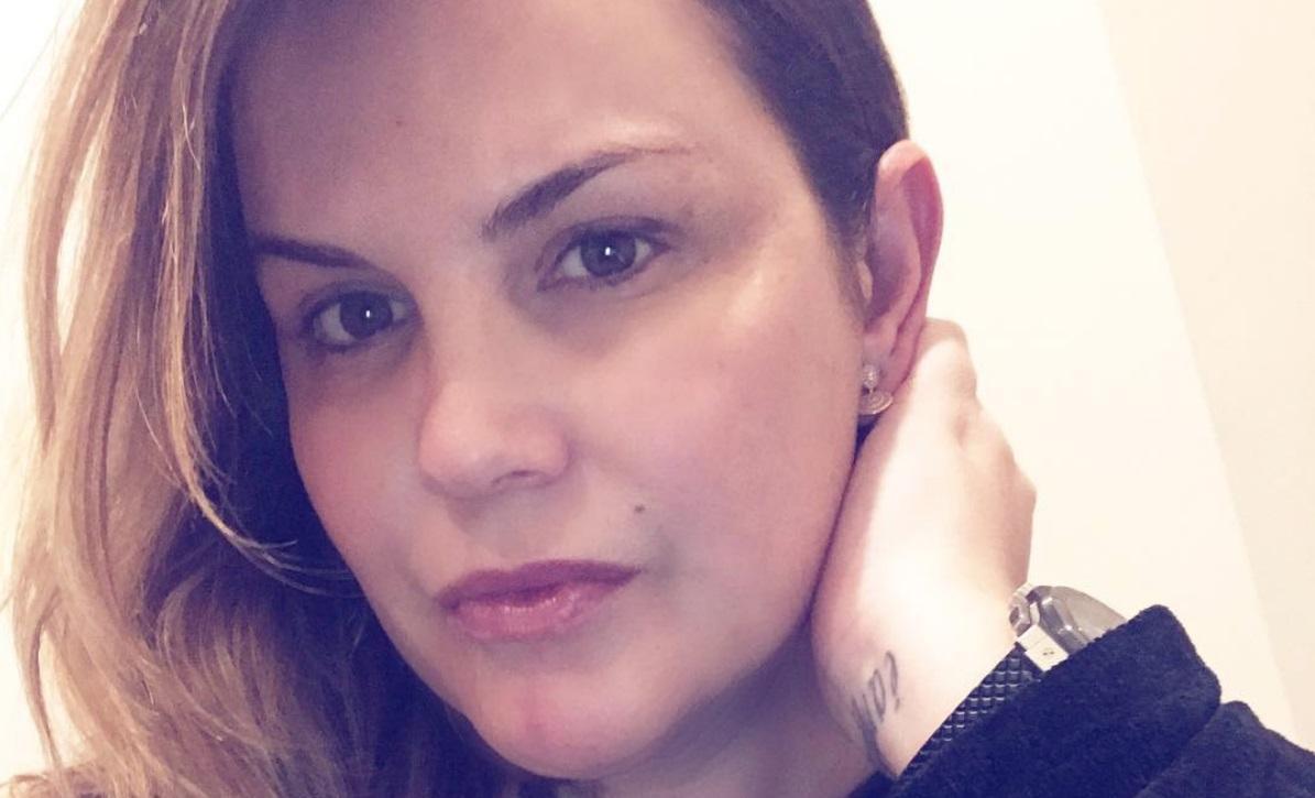 Katia Aveiro está grávida do terceiro filho