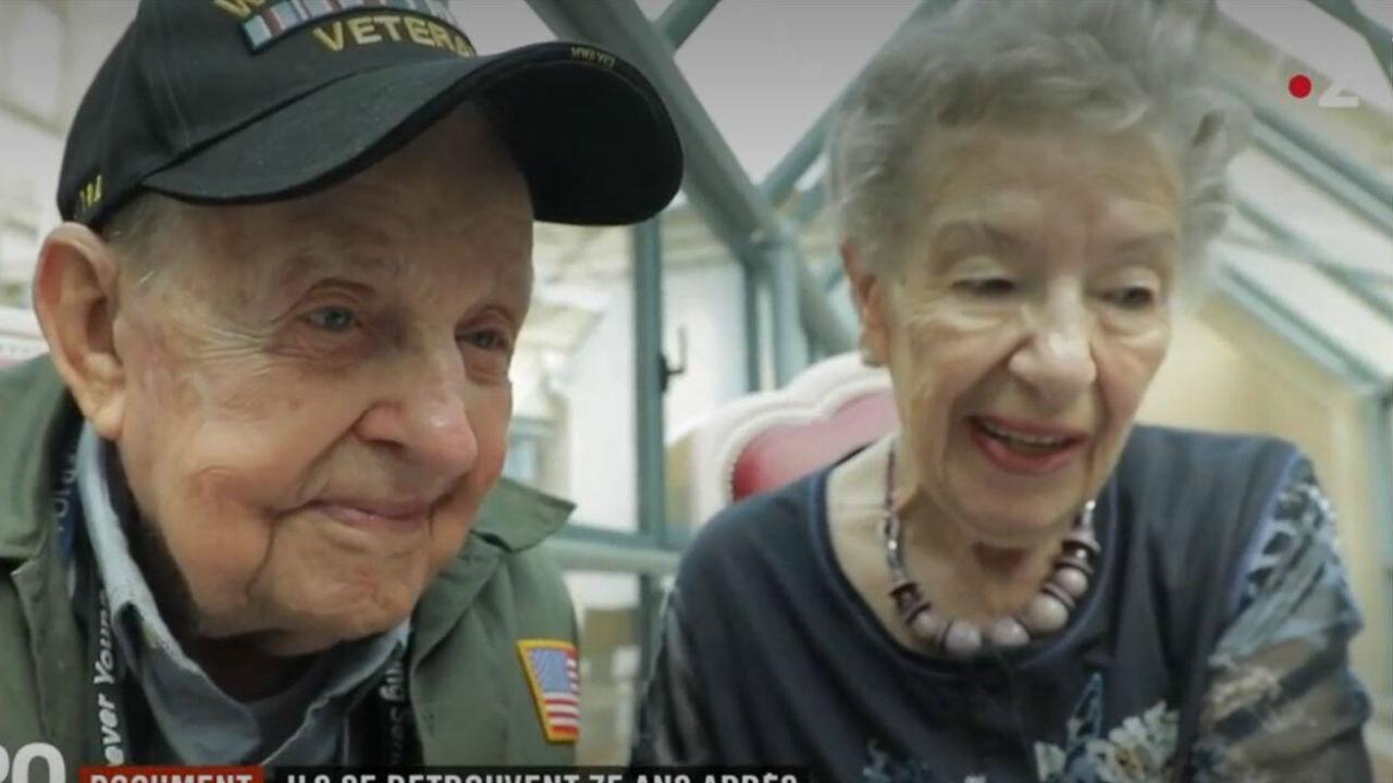 Casal separado pela guerra volta a reencontrar-se 75 anos depois