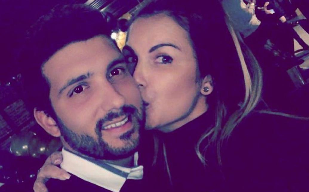 Katia Aveiro e Alexandre Bertoluci na Selfie