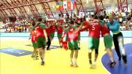 A festa dos jogadores portugueses após o apuramento para o Europeu