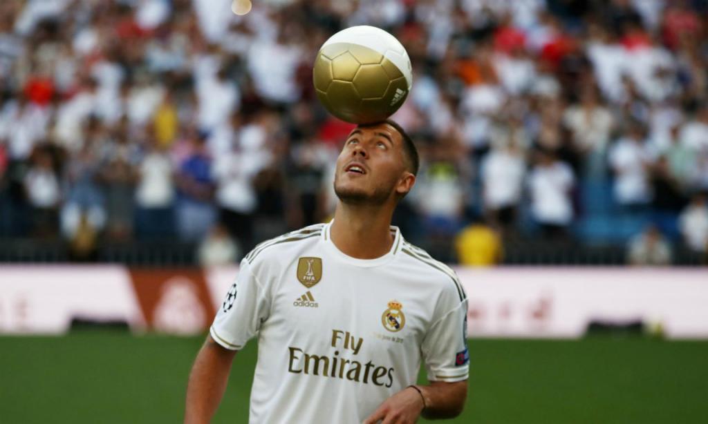 6.º: Eden Hazard, 35 milhões