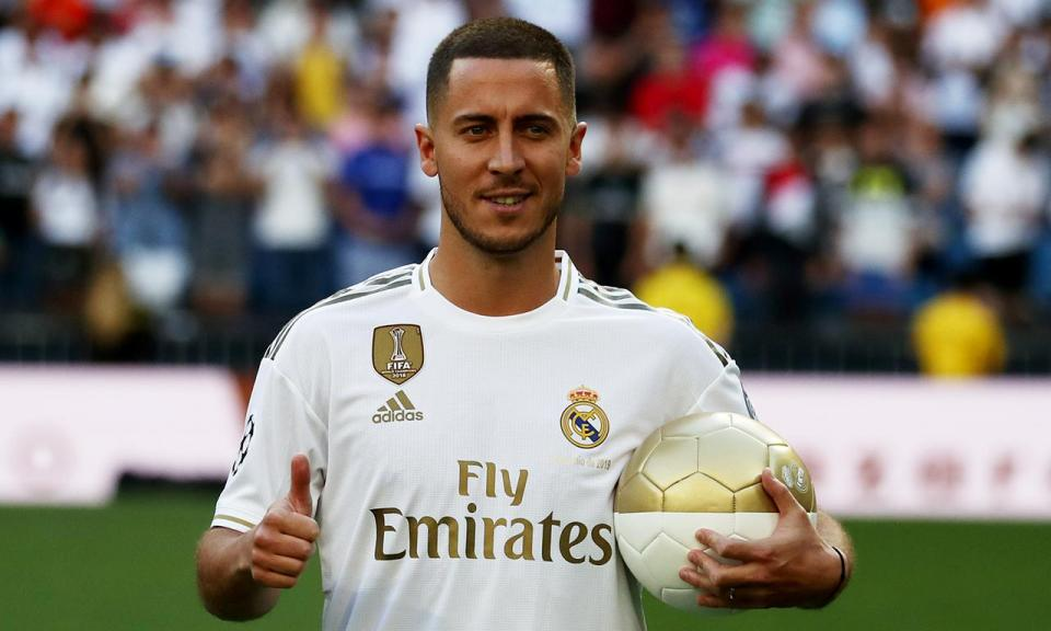 Liga Europa: Hazard eleito o melhor jogador, Félix em sétimo