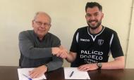 Académico Viseu renovou com Fábio Santos