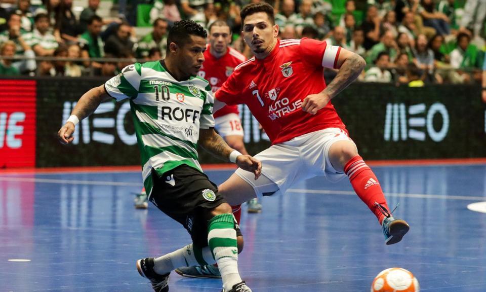 Futsal: Sporting e Benfica já conhecem adversários da Champions