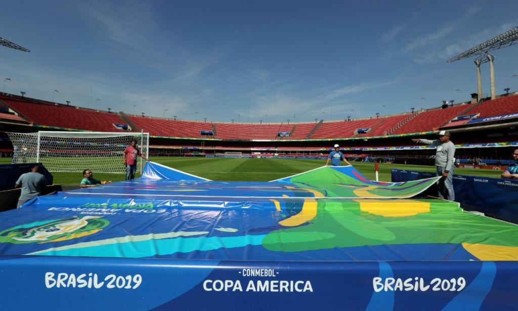 Copa América: os preparativos