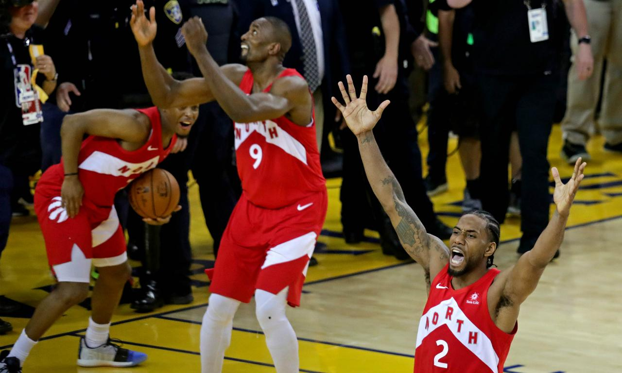 Toronto Raptors campeões da NBA (Kelvin Kuo-USA TODAY Sports)