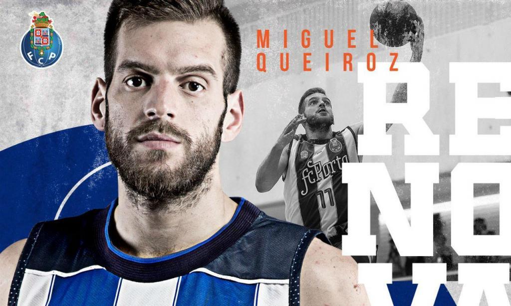 FC Porto renovou com Miguel Queiroz