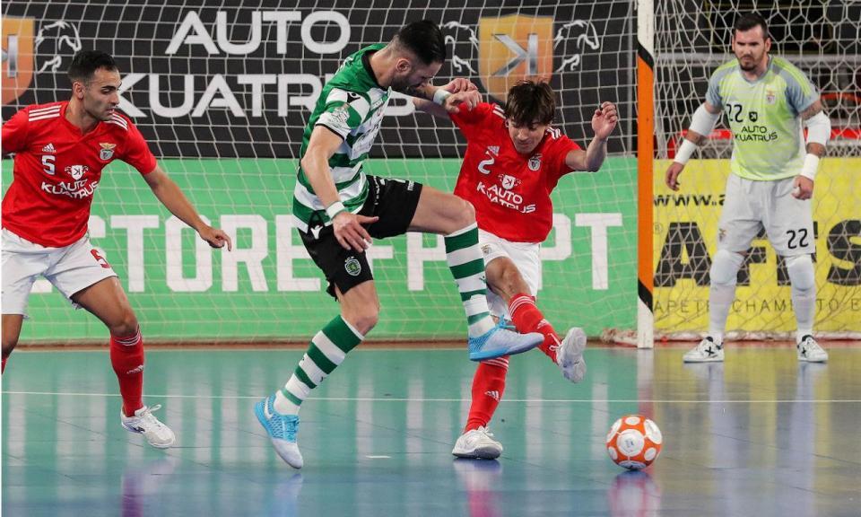 Futsal (calendário): Benfica recebe Sporting na 4.ª jornada
