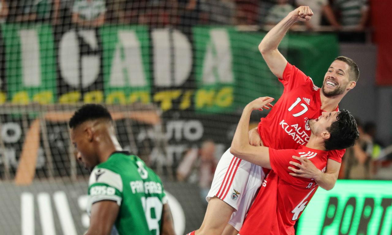 Futsal: Benfica-Sporting (Miguel A. Lopes/Lusa)