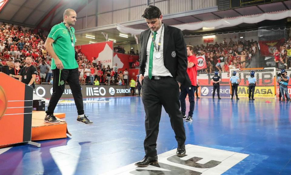 Nuno Dias (Sporting): «Parabéns ao Benfica, foi melhor»