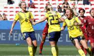 Suécia-Tailândia, Mundial feminino (Reuters)