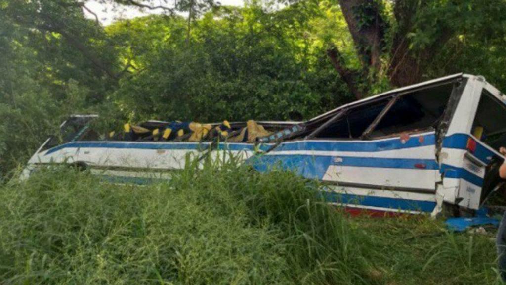 Acidente com autocarro na Venezuela