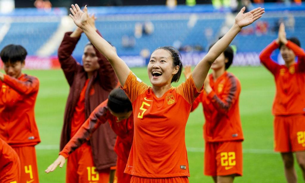 China apurada no Mundial feminino (EPA)