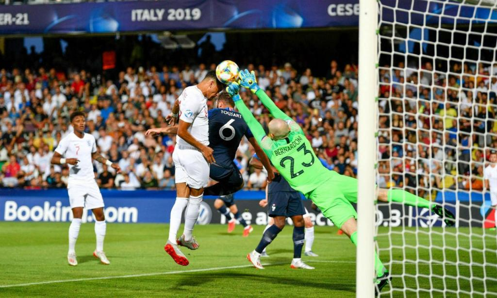 Euro sub-21: Inglaterra-França (EPA/ALESSIO MARINI)