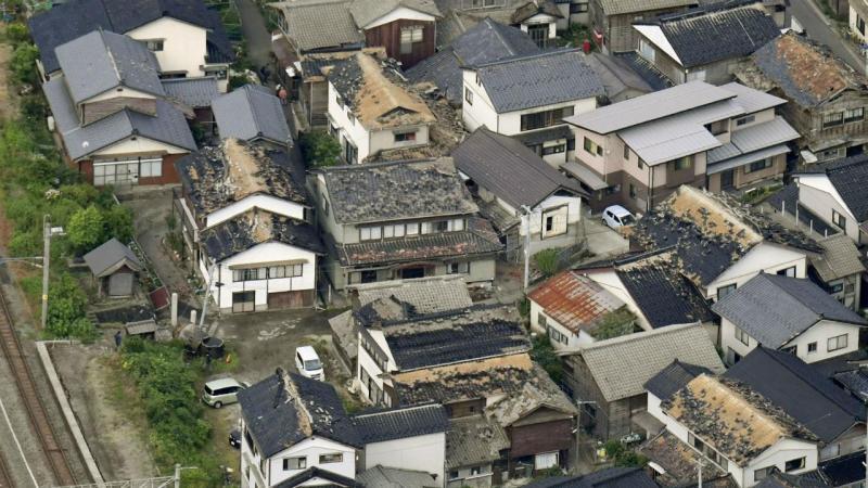 Sismo no Japão