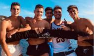 Promessas de Benfica, FC Porto e Sporting passam férias juntos (Instagram Dalot)