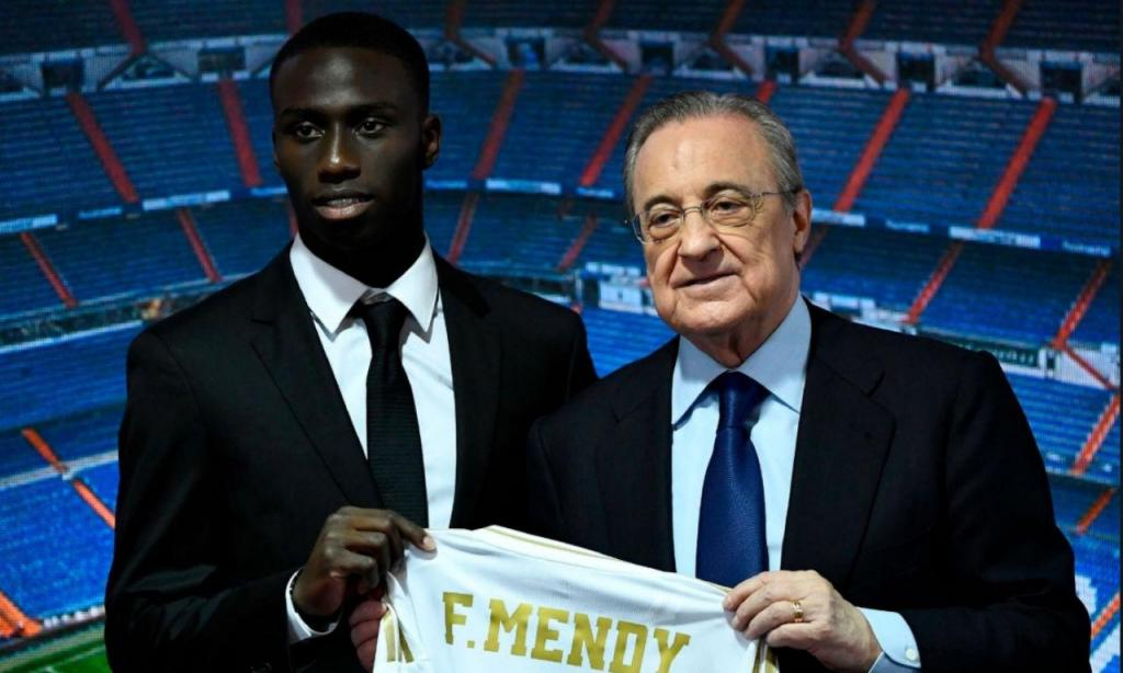 Mendy é reforço do Real Madrid