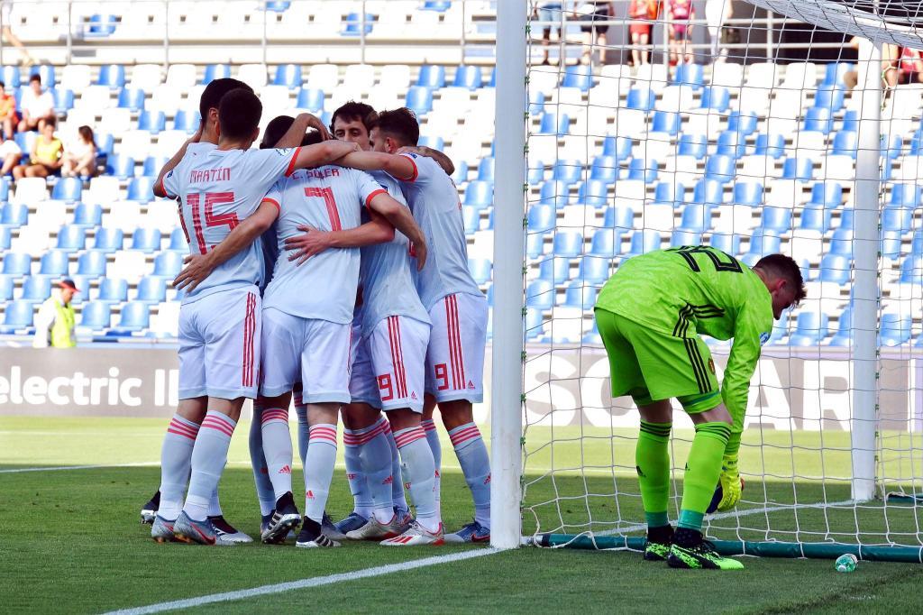 Espanha Sub-21 (Lusa)