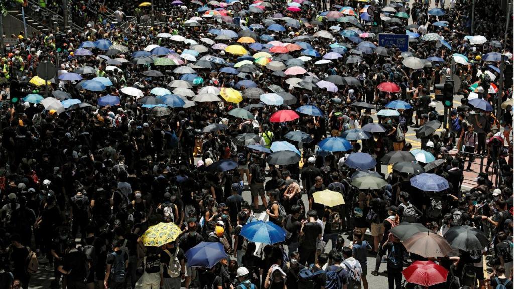 Protestos em Hong Kong contra lei da extradição