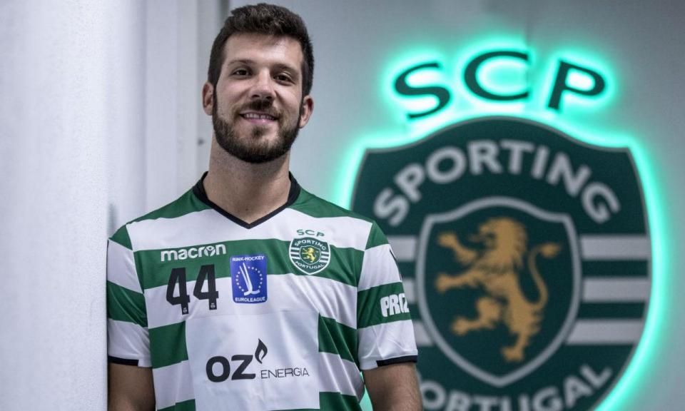 Hóquei em patins: Sporting contrata «doutor» João Souto