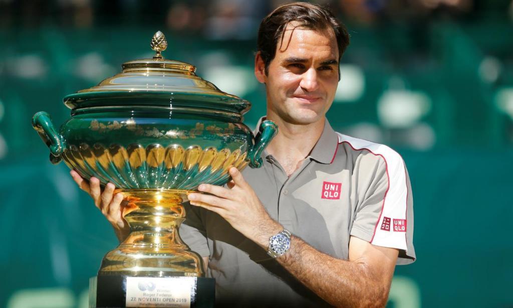 Roger Federer vence ATP de Halle 2019 (REUTERS/Leon Kuegeler)