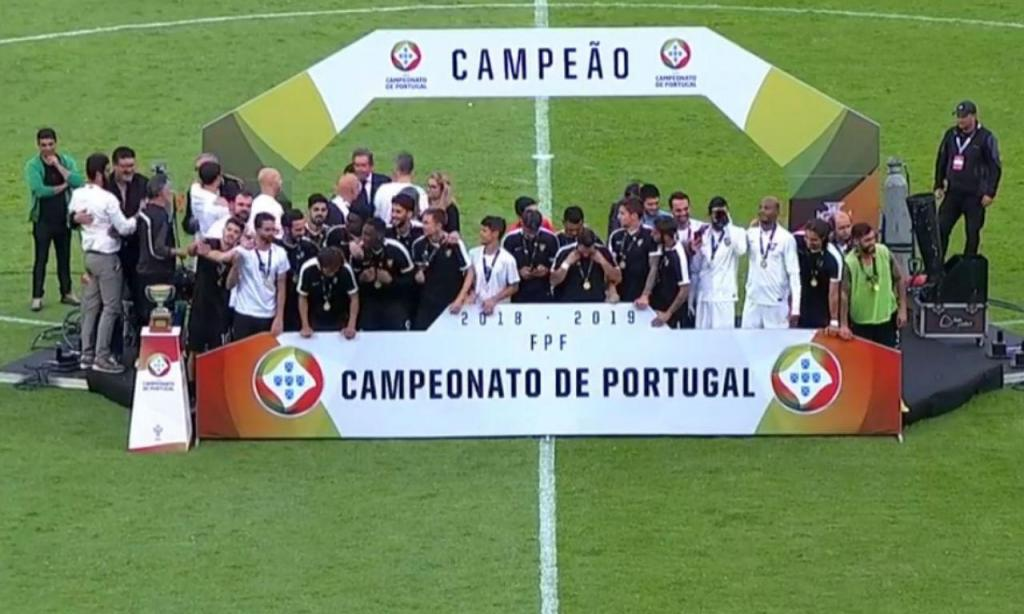 Casa Pia, vencedor do Campeonato de Portugal