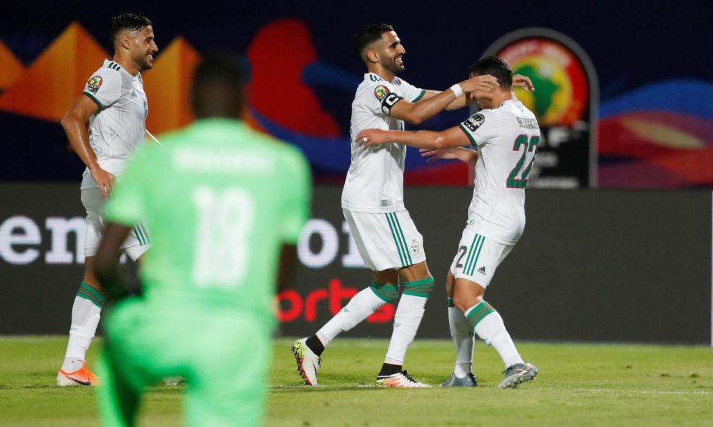 Argélia venceu QUénia (foto Reuters)