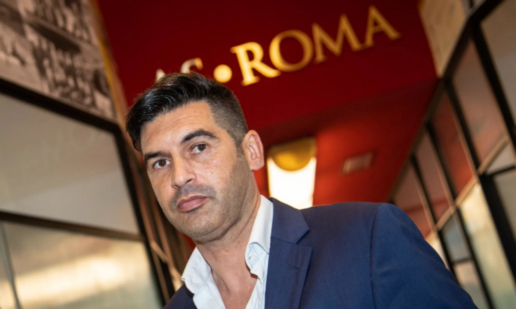 Paulo Fonseca (Fonte: AS Roma)